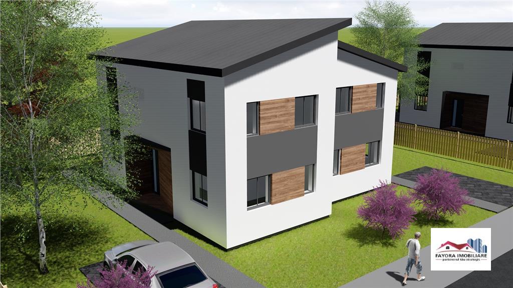 Casa Liffey de Vanzare in Noul Ansamblu Shamrock Gardens