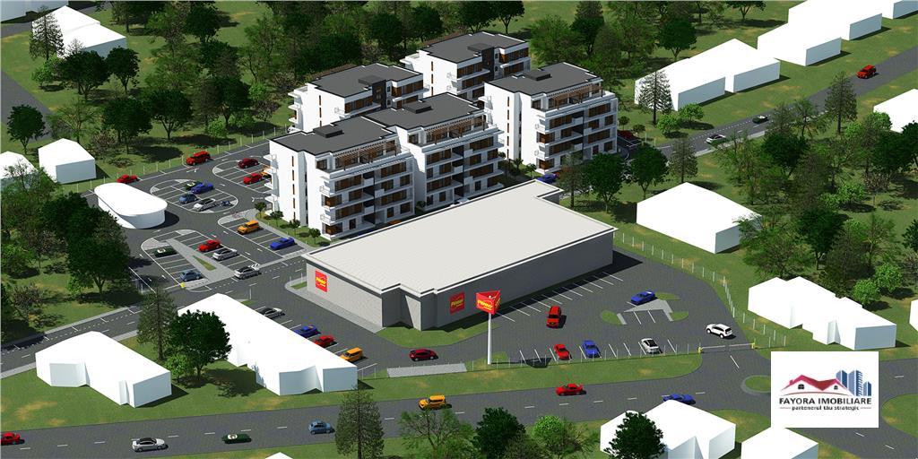 Apartament cu 2 Camere Tip V3 de Vanzare in Ansamblul Casa Galbena