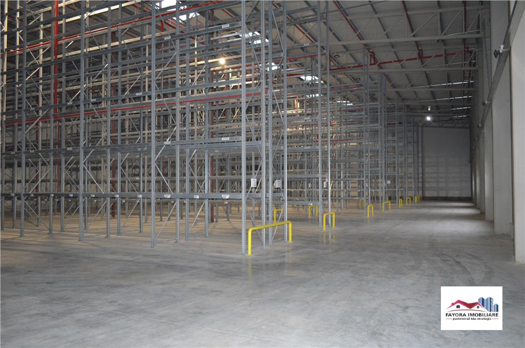 Hala pentru Depozit Logistic de Inchiriat in Suprafata de 1700 mp