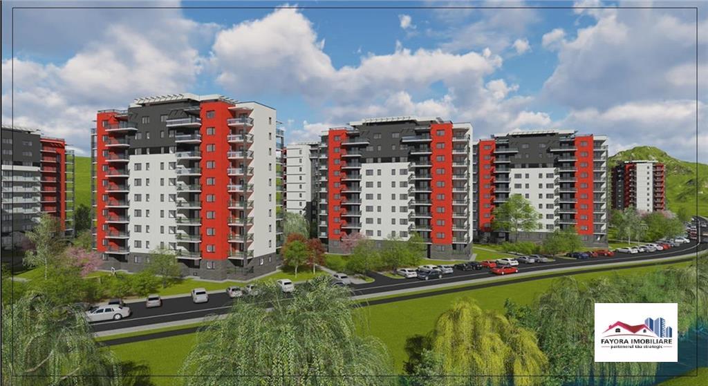 Apartament 2 Camere Tip A2.2 de Vanzare in Ansamblul Green Residence