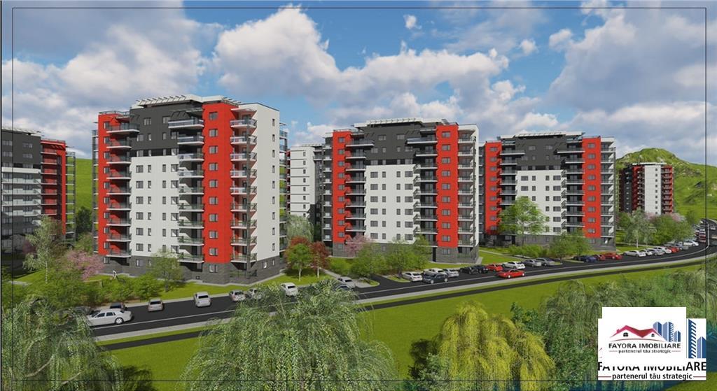 Apartament 2 Camere Tip A2.1 de Vanzare in Ansamblul Green Residence
