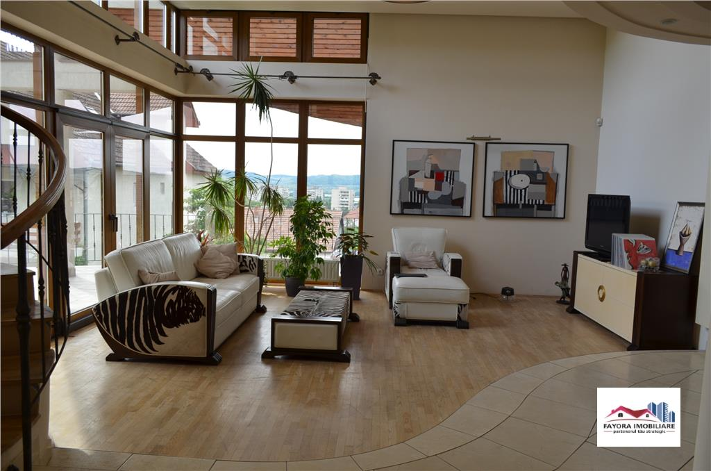 Casa Moderna Dotata Lux de Vanzare in Zona Cornisa