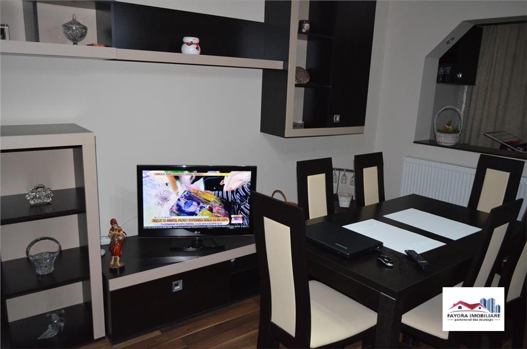 Apartament cu 2 Camere de Vanzare in Dambu, decomandat si mobilat