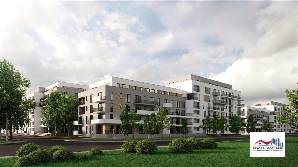 Apartament 2 Camere de Vanzare in Ansamblu Rezidential Nou