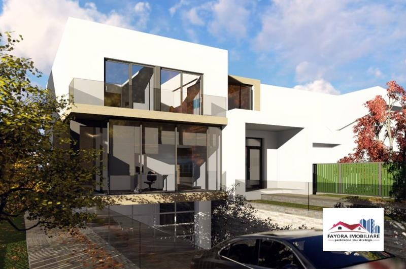 Casa cu Teren si Proiect Nou de Vanzare in Zona Platoul Cornesti