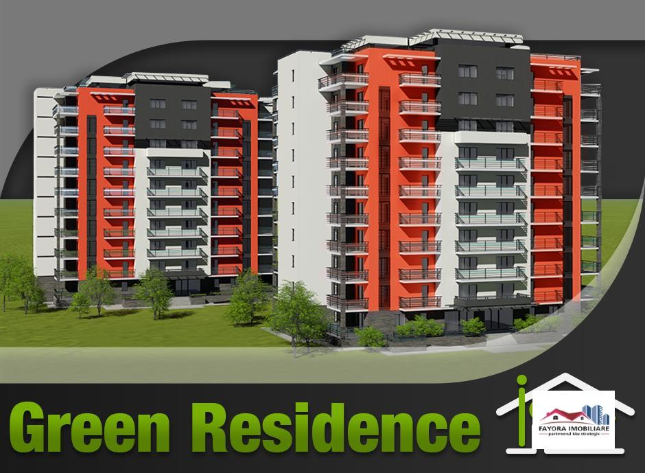 Apartament cu 1 Camera Tip A1.3 de Vanzare in Ansamblul Green Residence